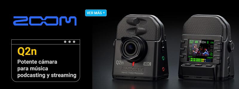 Zoom Q2N-4K Cámara para conciertos