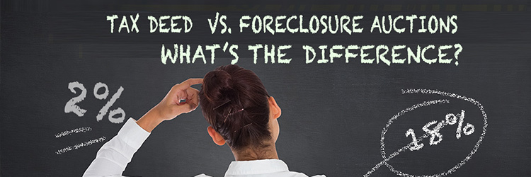 Tax Deed vs. Foreclosure Auctions: What's the Difference?