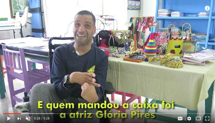 Vídeo Janderson - Presentes Glória Pires