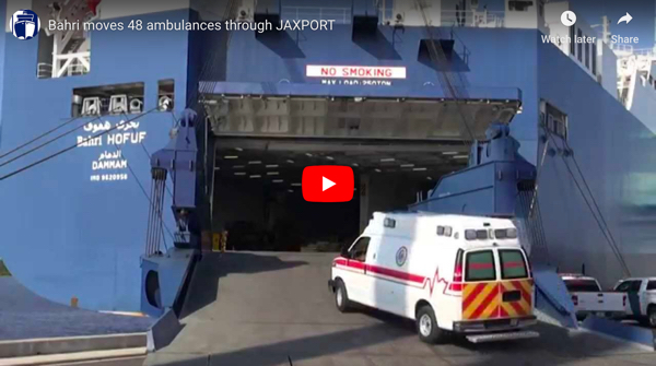 Bahri move 48 ambulances
