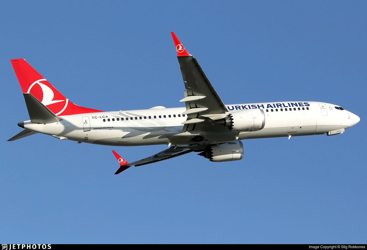 Turkish Airlines 737 MAX