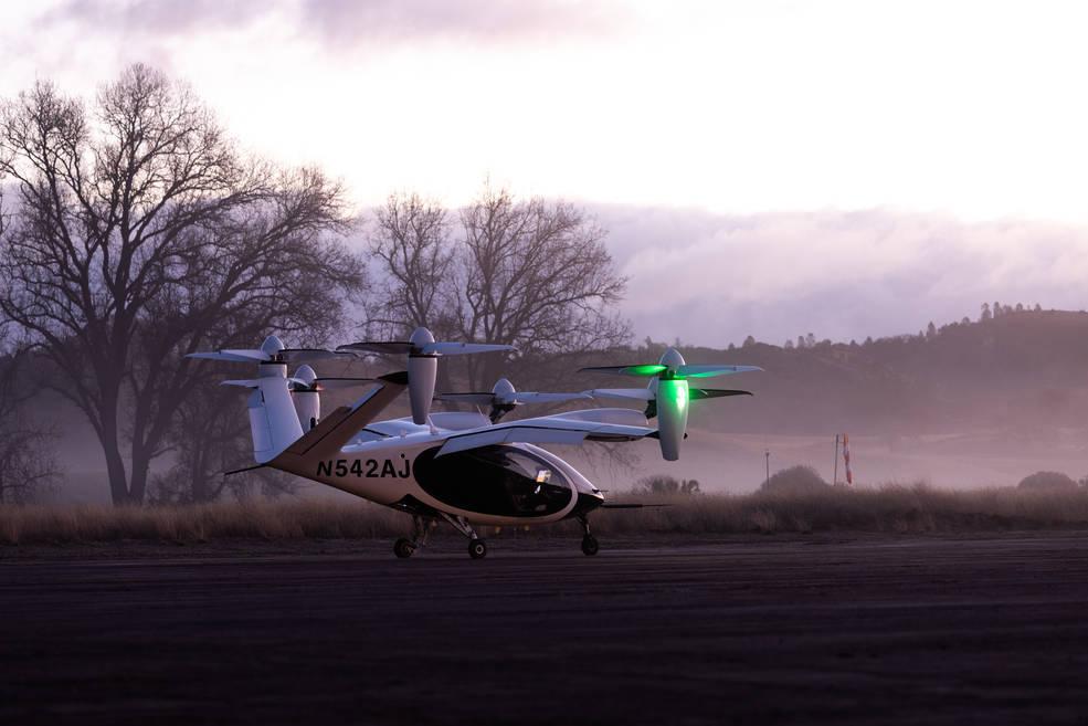 Joby Aviation's eVTOL
