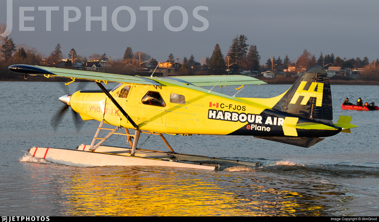 Harbour Air's all-electric DHC-2 Beaver