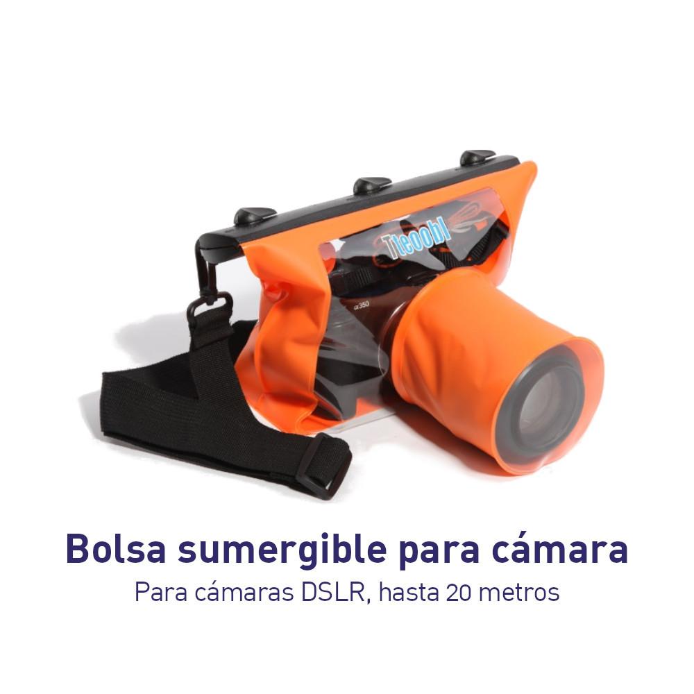 Bolsa Sumergible para Camara DSLR Hasta 20 metros