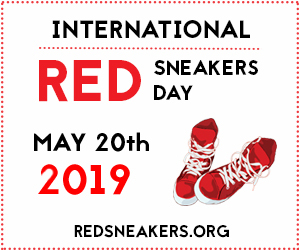 Red Sneakers for Oakley