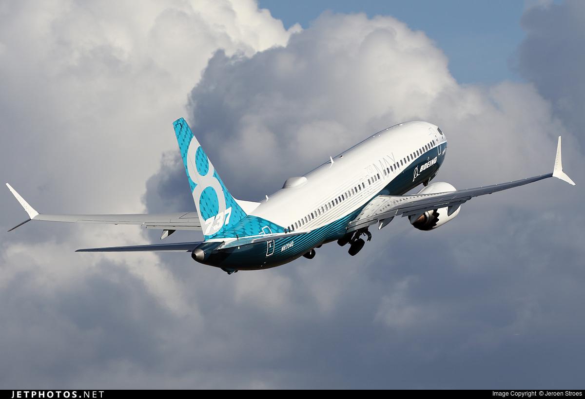 737 MAX departing airport