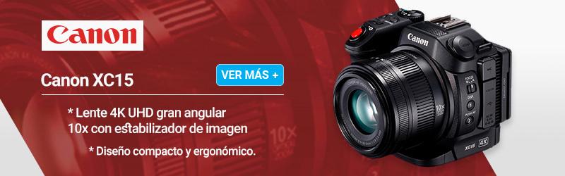 Canon XC15 Videocámara profesional