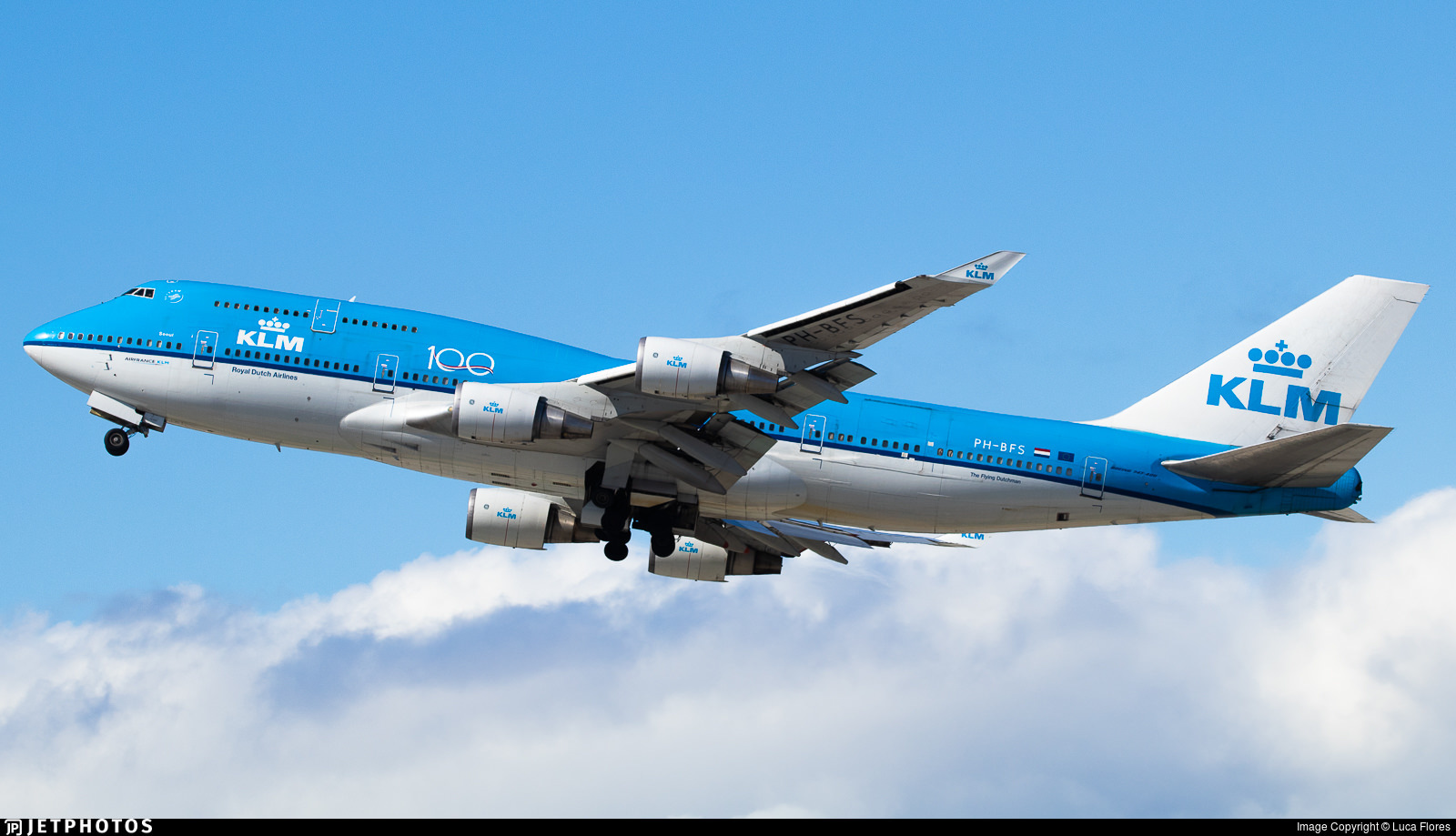 KLM 747 combi