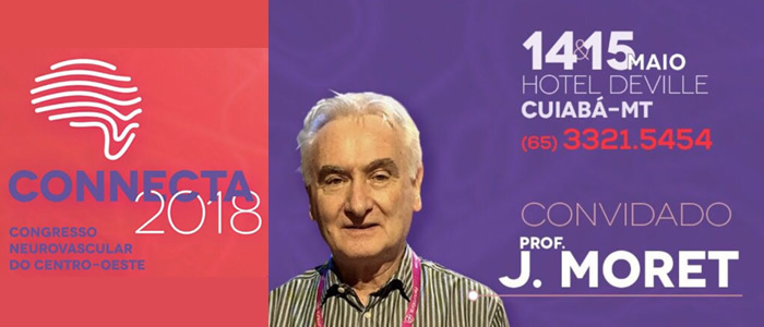 Connecta 2018 com Prof. Jacques Moret (14 e 15/05)