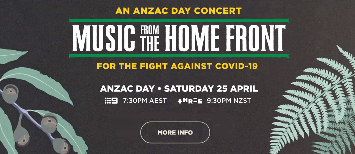 Australia Anzac Day Concert Music from the Home Front