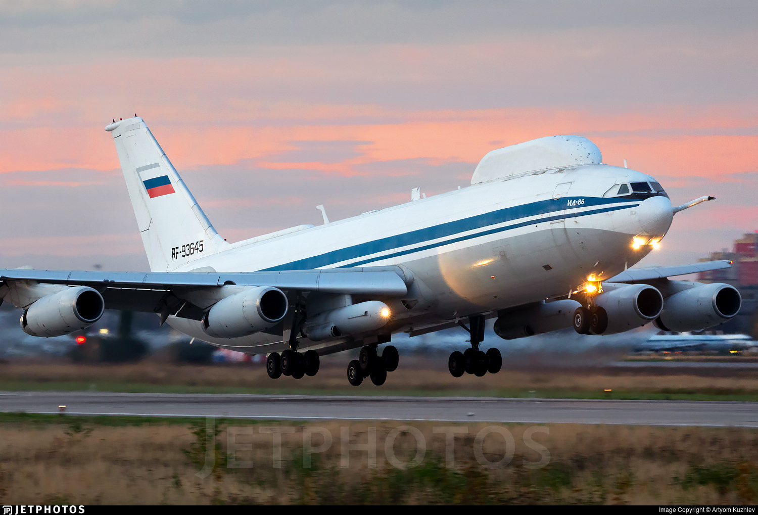 Russian IL-80 'Doomsday Plane' designed to carry Russian leadership in the event of nuclear attack