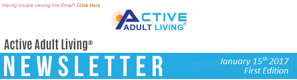 Active Adult Living Newsletter - January First Edition
