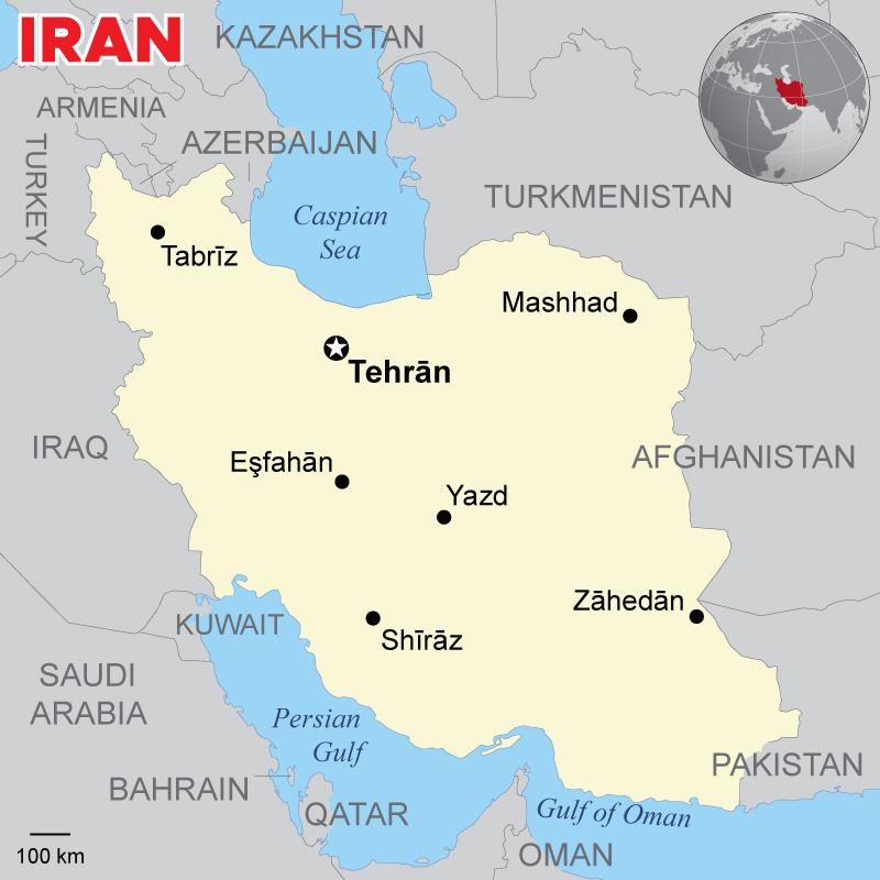 Iran Map