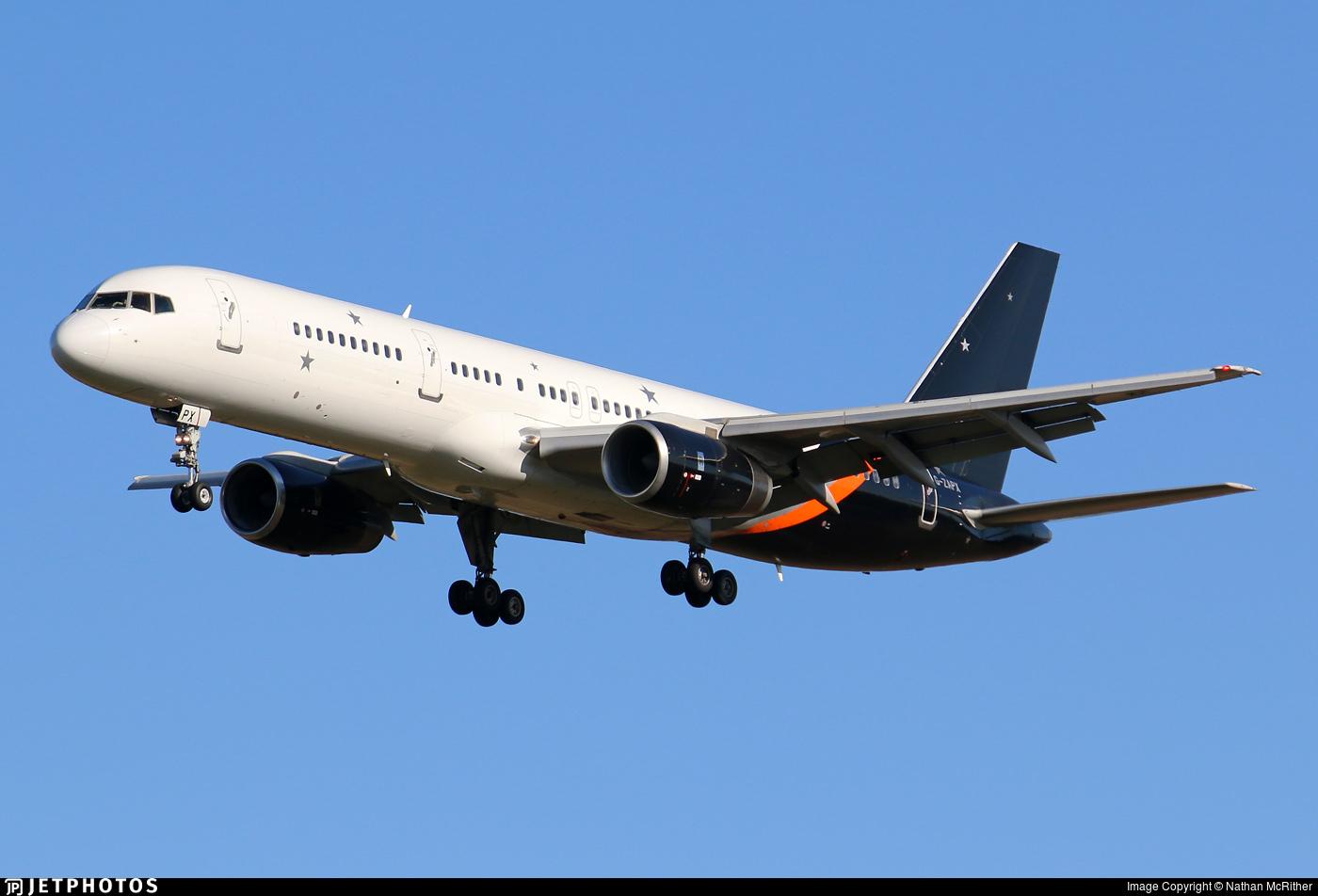 Titan Airways 757