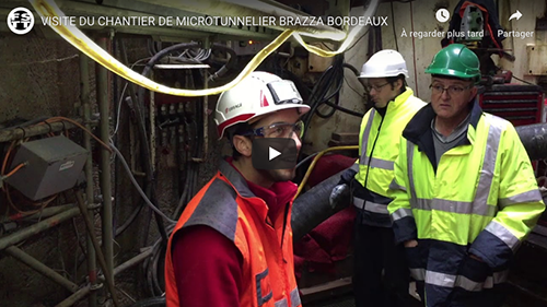 Chantier de microtunnel hors normes