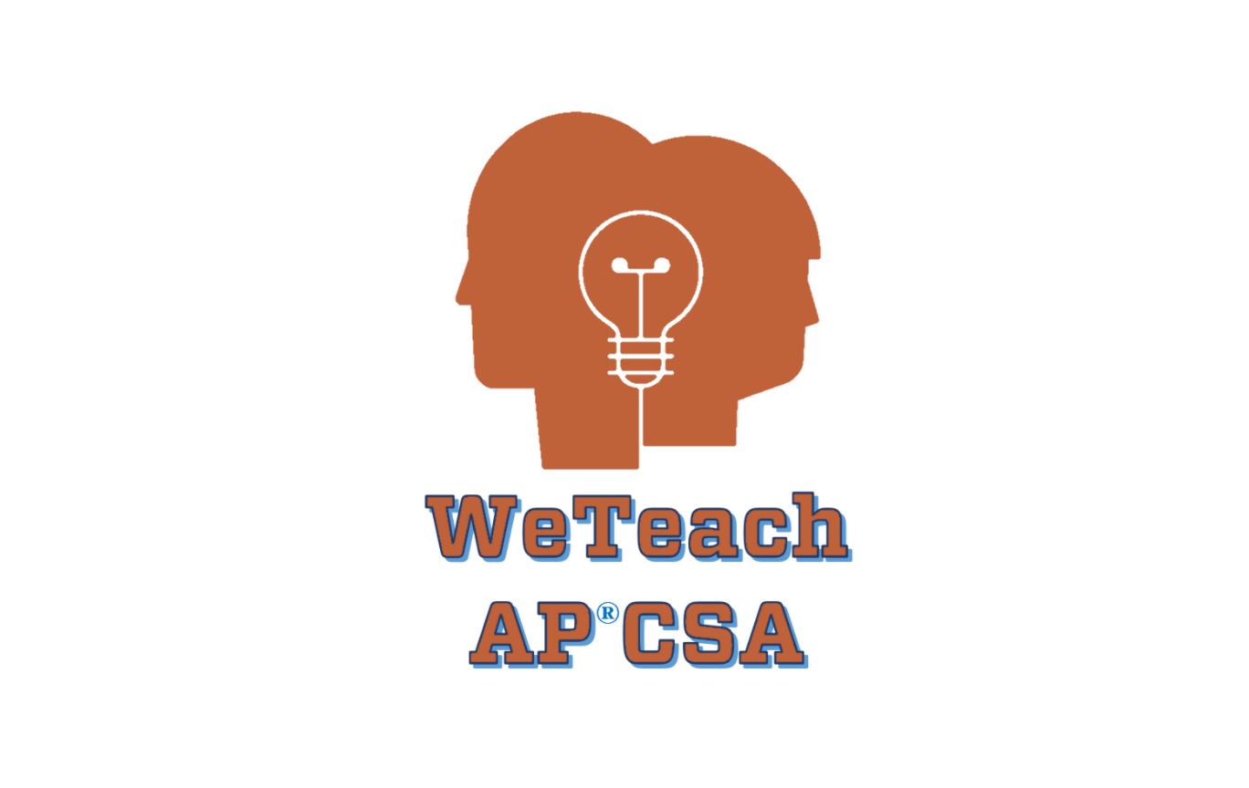 Two heads WeTeach logo