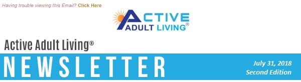 Active Adult Living Newsletter - July Second Edition