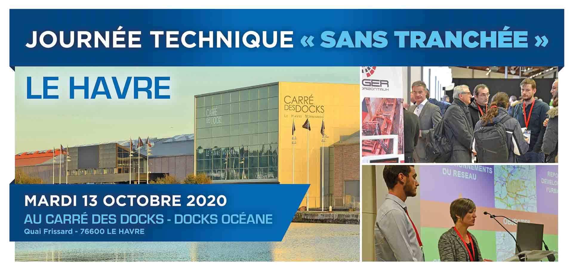 Journée technique sans tranchée AU HAVRE FIN 2020