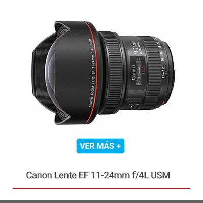 Canon Lente EF 11-24mm f/4L USM