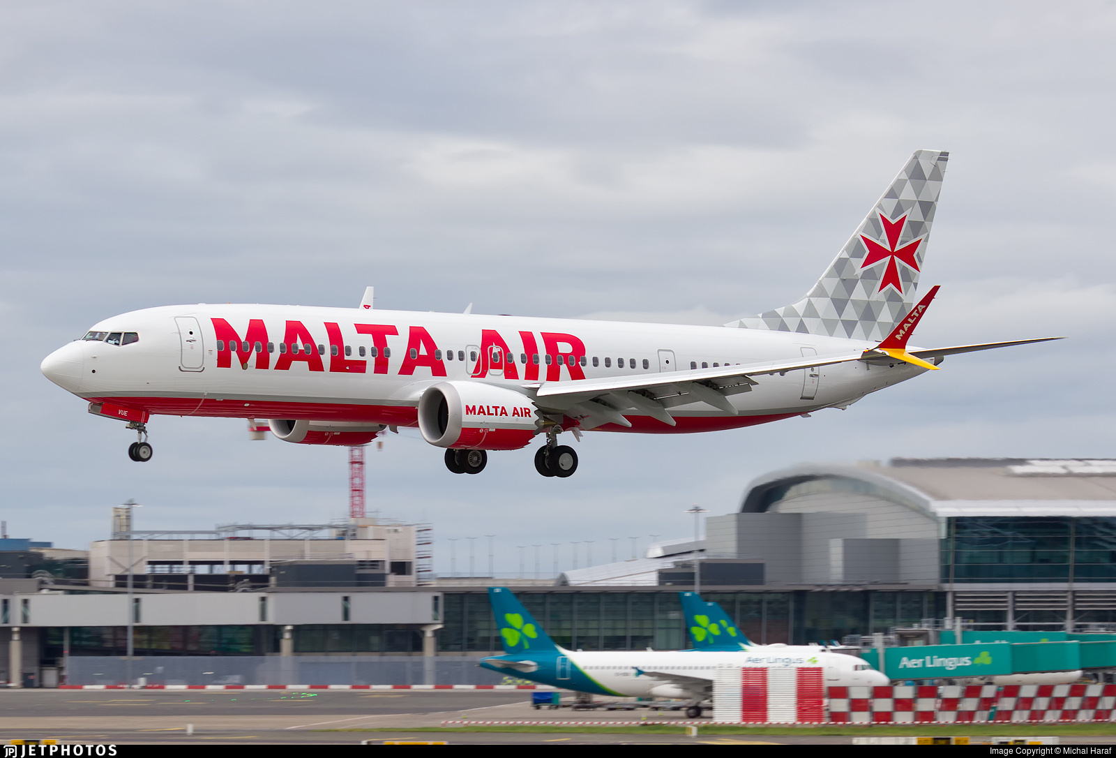 Malta Air's first 737-8-200 MAX