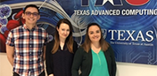Welcome Chris Ramos, Vera Belcher and Astrid Alcazar to TACC