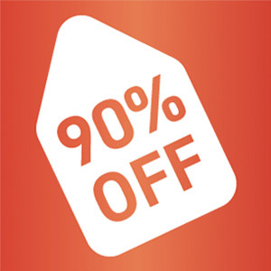 Auction starting during the DealDays promotion are 90% OFF the final auction win price