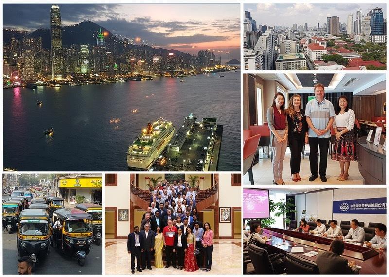 Asia trip collage