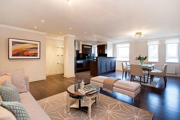 REGENTS PLAZA APARTMENTS, MAIDA VALE, NW6 £850 per week Available Fees apply 3 bedroom Apartment