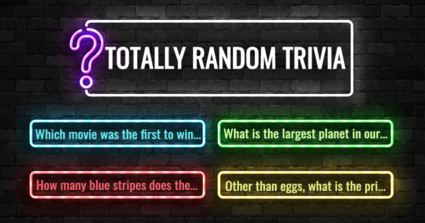 Totally Random Trivia: Can You Get All 20?