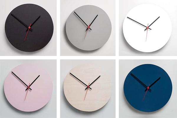 Minimalist design wall clocks