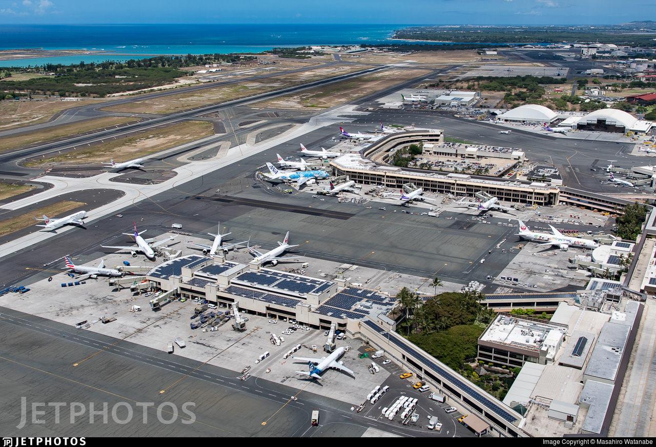 Honolulu Airport, 2019