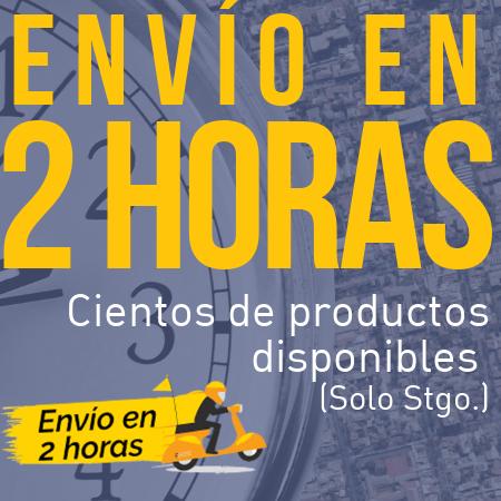 Cientos de productos con envío en 2 horas. Dentro de Santiago