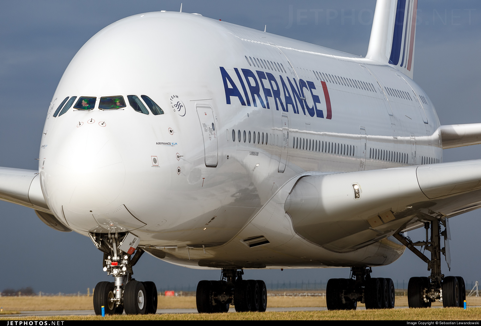 An Air France A380