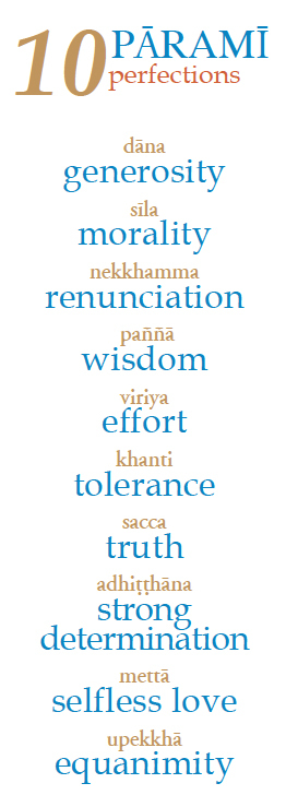 ten paramis listed