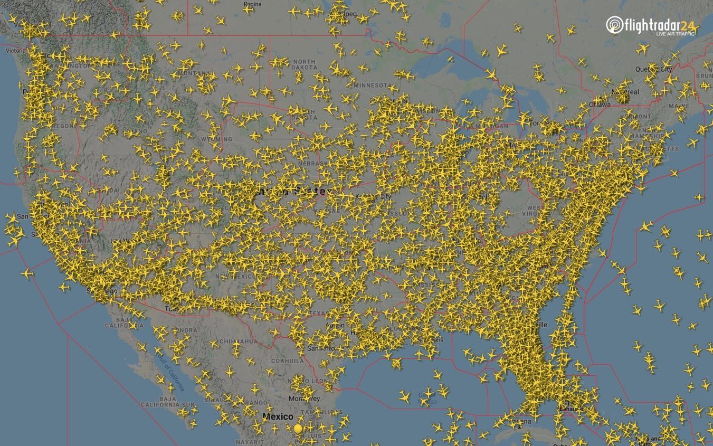 Indianapolis ARTCC airspace