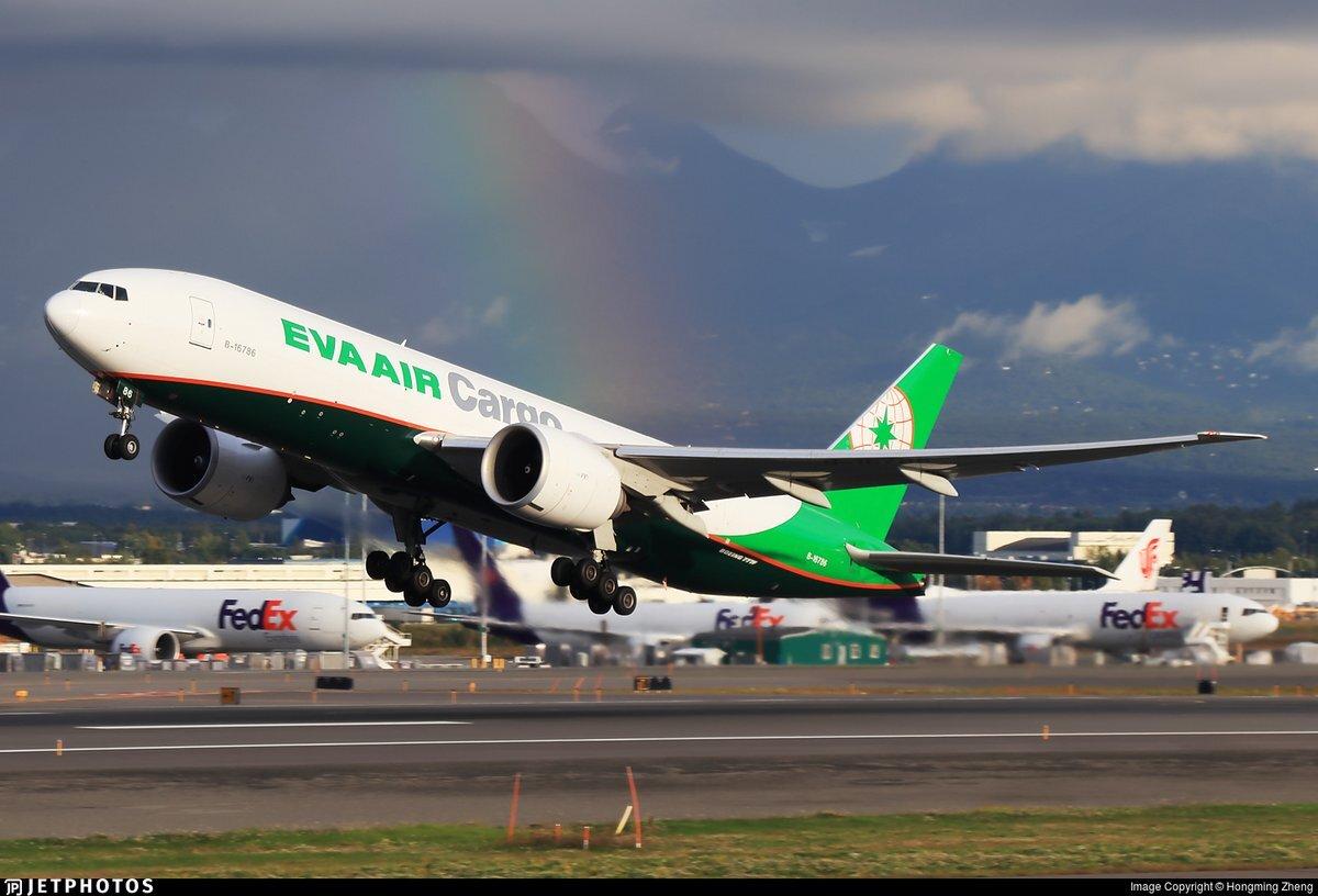 EVA Air Cargo 777