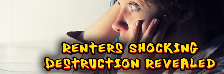 Renters Shocking Destruction Revealed by Hilarious Agent Video!