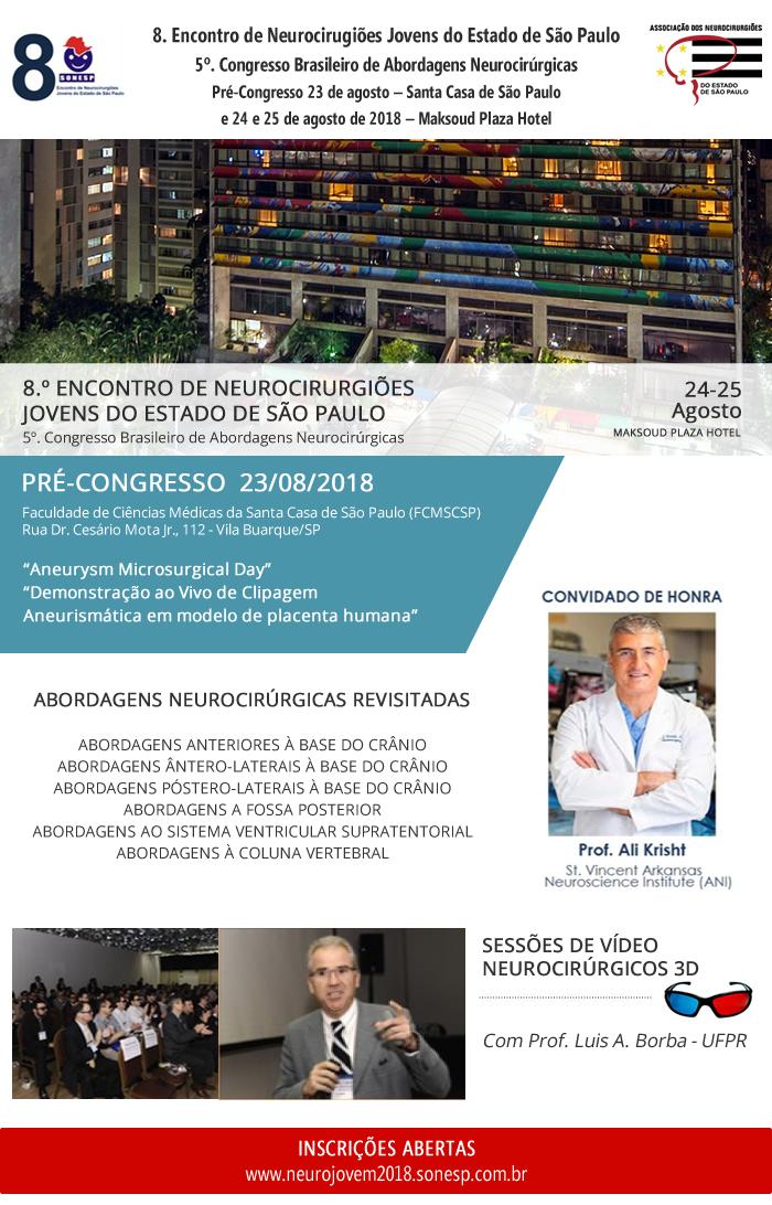 8º Encontro de Neurocirurgiões Jovens do Estado de São Paulo @ Maksoud Plaza Hotel