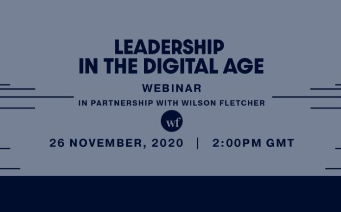 Webinar: Leadership in the Digital Age