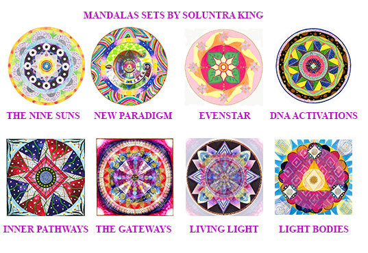 MANDALAS BY SOLUNTRA
