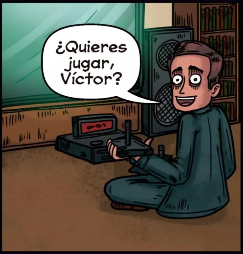 NM example from Me llamo Víctor