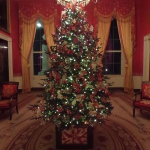 Christmas Tree in the White House 2017