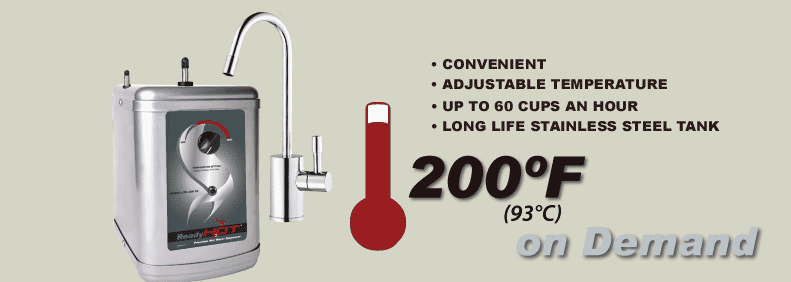 "$199 for the RH-200 with Faucet with Coupon Code ""HotGift"""