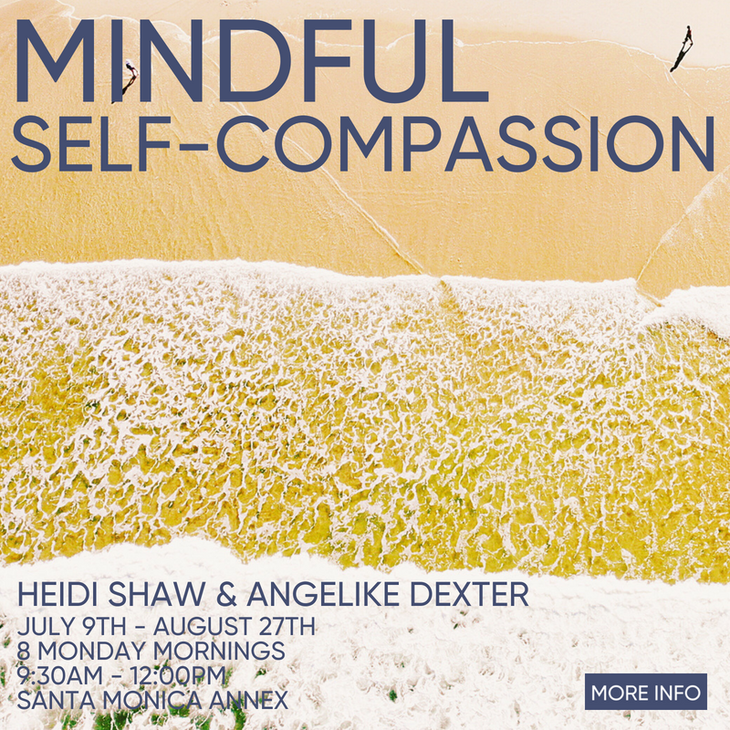 Mindful Self Compassion beginning July 9th