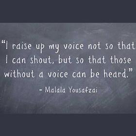 Malala Yousafzai Quote