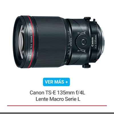 Canon TS-E 135mm f/4L Lente Macro Serie L