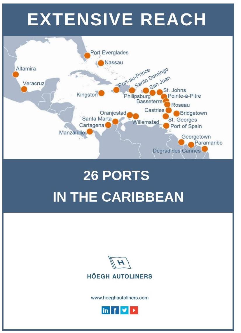 Höegh Autoliners Caribbean Service