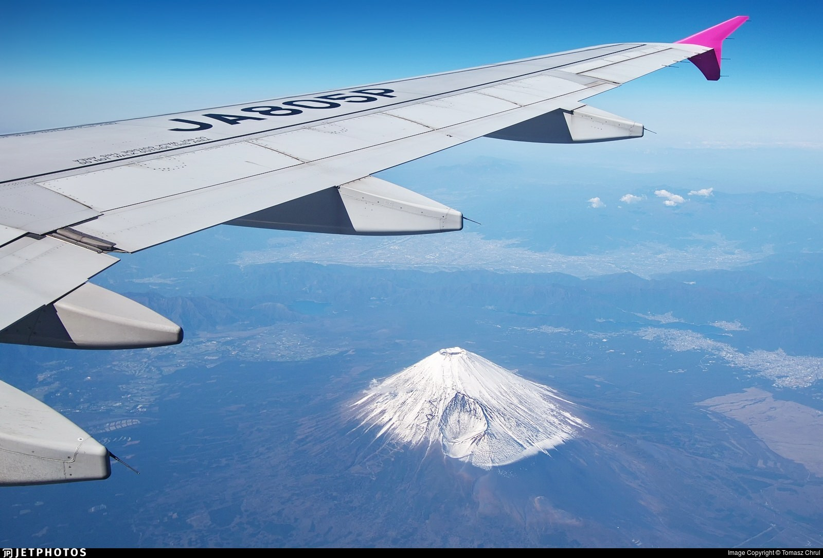 Mt Fuji out the window