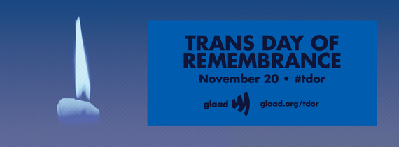 Trans Day of Remembrance with Glaad