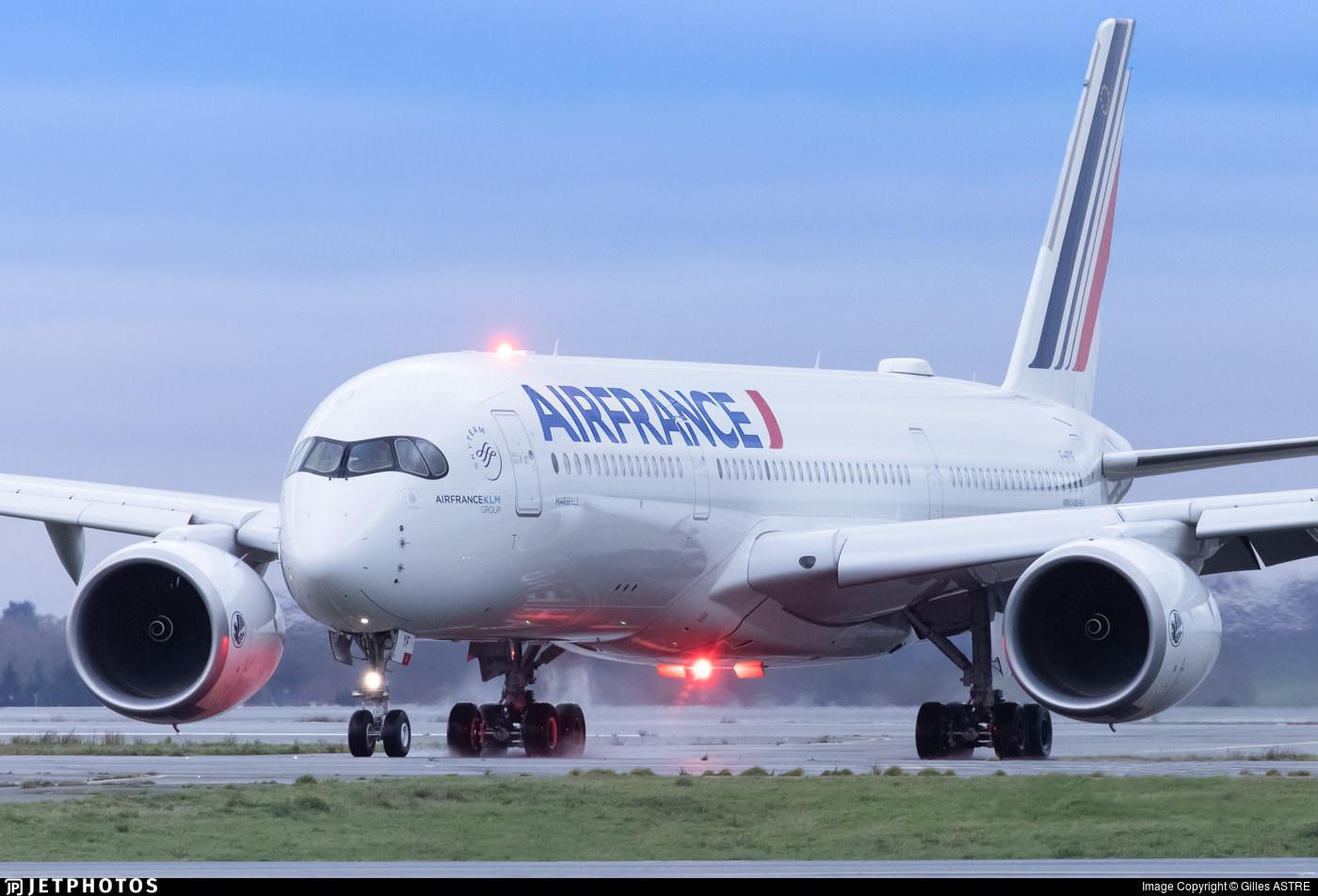 An Air France A350